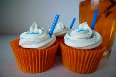 Irn Bru cupcakes