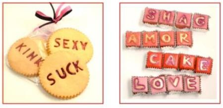 Konditor & cook Valentine's cakes