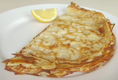English pancake