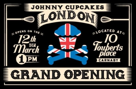 Johnny Cupcakes London ad