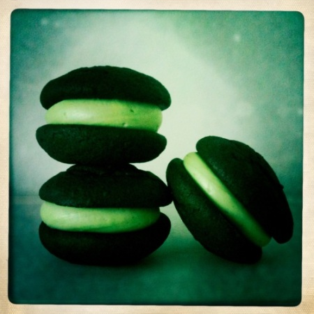 St Patrick's Day Whoopies Pies