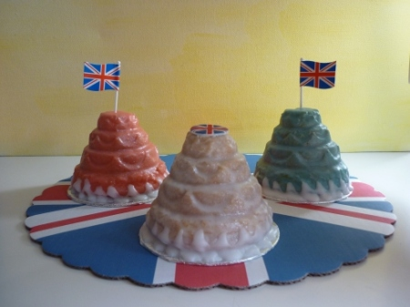 Mini Royal Wedding cakes