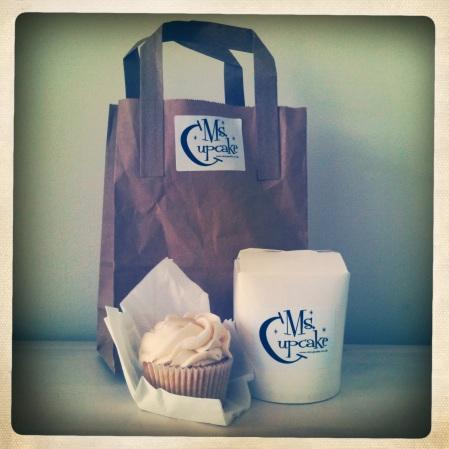 Ms Cupcake vanilla cupcake