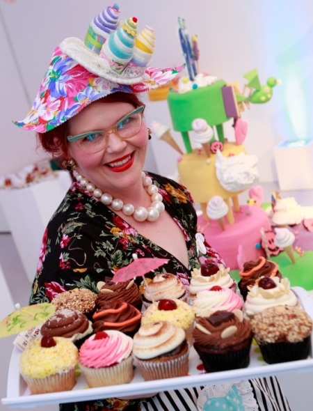 Ms. Cupcake at Cake Britain
