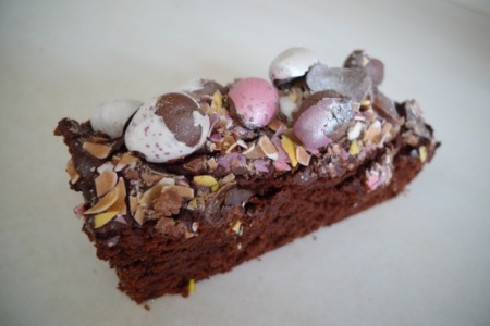 Easter brownie
