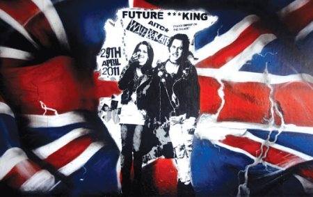Will and Kate mural