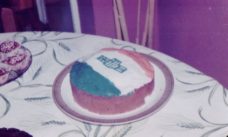 Prinsevlag cake
