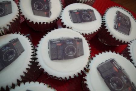 Lomography LC-Wide cupcakes