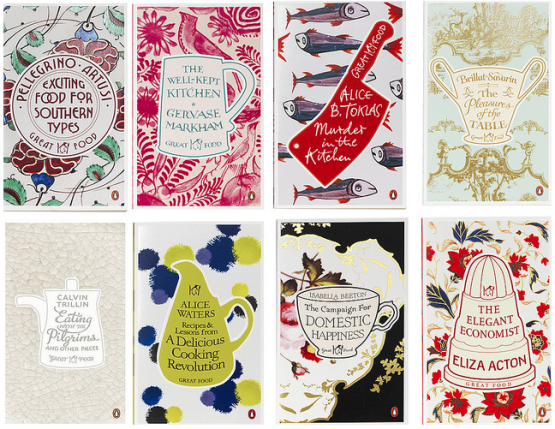 Food Book Cover Ideas : Penguin launches great food book series london baking