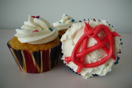 Anarchy in the UK cupcakes