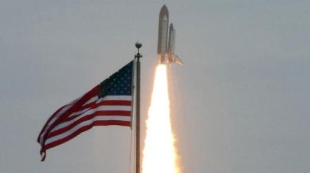 Final space shuttle launch