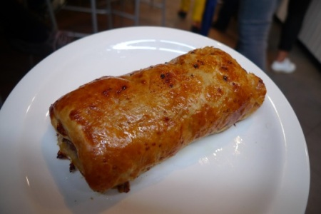 Lily Vanilli Bakery sausage roll