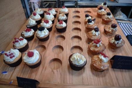 Lily Vanilli Bakery cupcakes