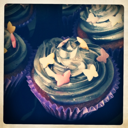 Smashing pumpkin cupcakes