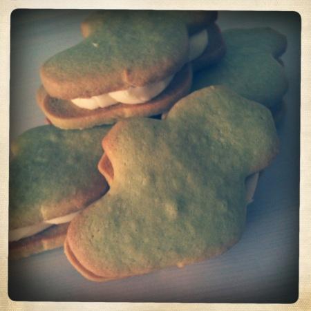 Ireland biscuits with Baileys buttercream