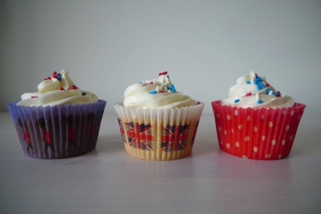 Diamond Jubilee cupcake cases