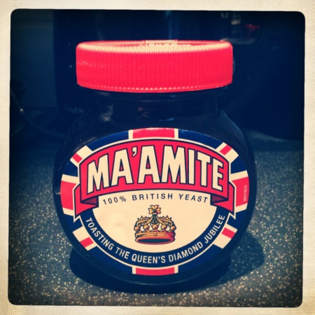 Ma'amite Marmite for the Diamond Jubilee