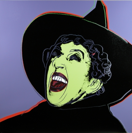 Andy Warhol witch