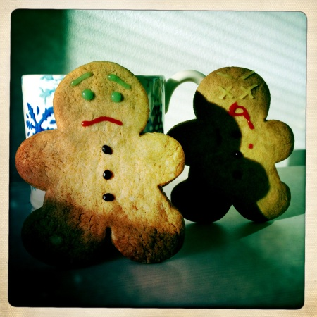 Zombie Gingerdead Men