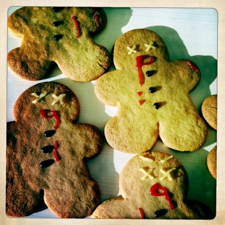 Zombie Gingerbread Men