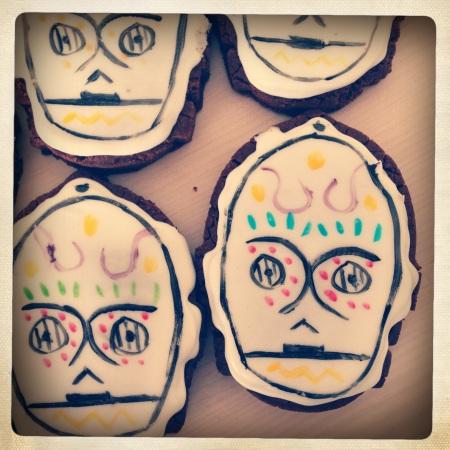 C-3PO Sugar Skulls